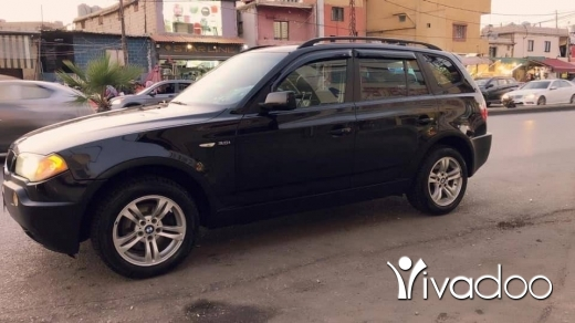 BMW in Beirut City - 4 sale x3 model 2005