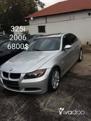 BMW in Choueifat - للبيع او تبديل BM E90 مفولي 325 انقاض كتير حلوي موديل 2006