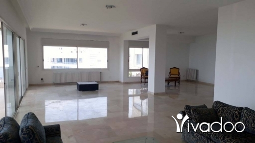 Apartments in Rabieh - Spacious Apartment For Sale In A Classy Area Of Rabieh With A splendid View - L05110