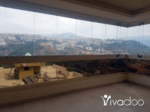 Apartments in Hazmieh - Apartment for Rent in New Mar Takla 4 Bedrooms with Open View : L05471