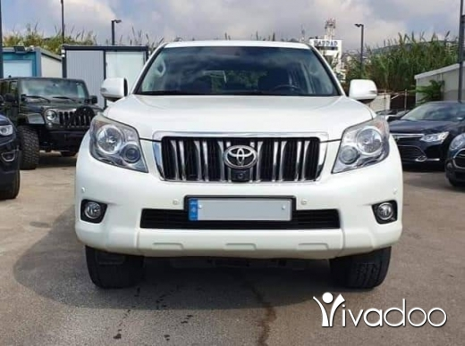Toyota in Beirut City - 2012 Prado VX-L in perfect condition / Company source / Low mileage