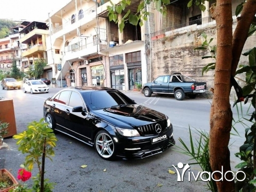 Mercedes-Benz in Hasbaya - c300 2011 special adition full option look amg 2018