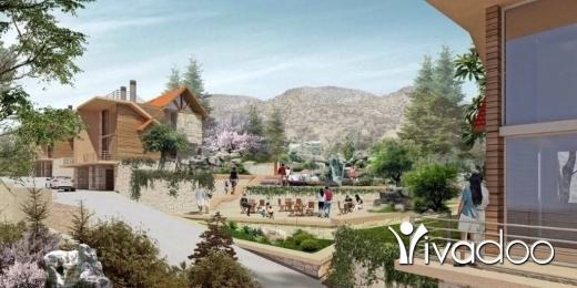 Villas in Laqlouq - Villa For Sale in Laqlouq In A Brand New Project : L05129