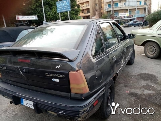 Daewoo in Port of Beirut - ئوبل دايو اتوماتيك حلوه ٤ سيلندر اتوماتيك انقاد