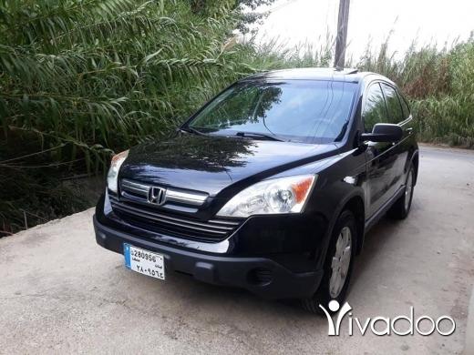 Honda in Zgharta - Crv 2008 ex 4weel aswad alb aswad