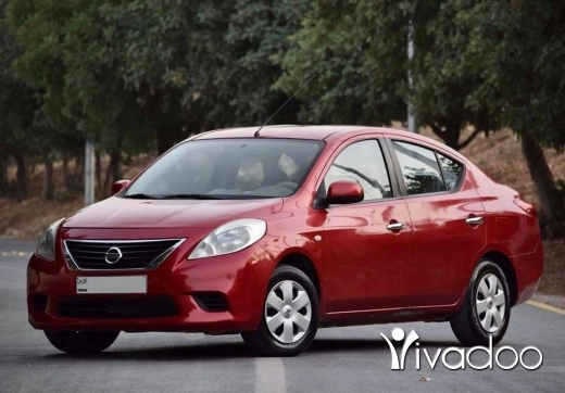 Nissan in Beirut City - نيسان صني 2013