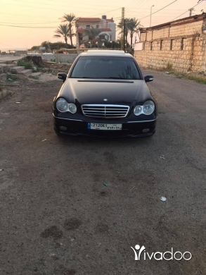 Mercedes-Benz in Port of Beirut - Mercedes C 230 model 2007