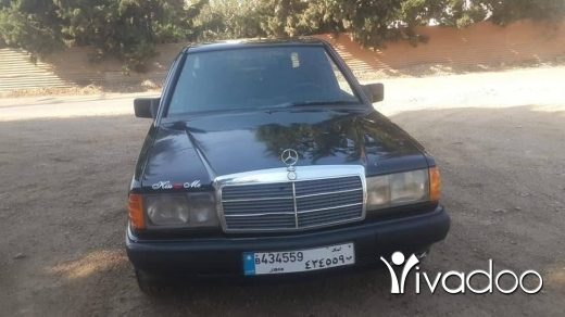 Mercedes-Benz in Port of Beirut - FOR SALE MERCEDS BENZ MODEl 89 (E190)