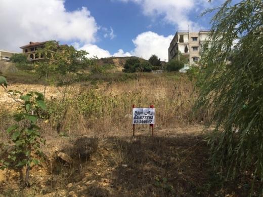 Land in Bhamdoun - street front land for sale in Bhamdoun the village