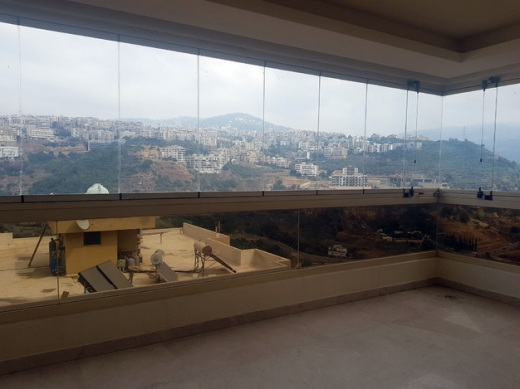Apartments in Baabda - L05471 Apartment for Rent in New Mar Takla 4 Bedrooms with Open View