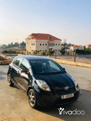 Toyota in Beirut City - Toyota Yaris 2009 Automatic سياره شبه جديده