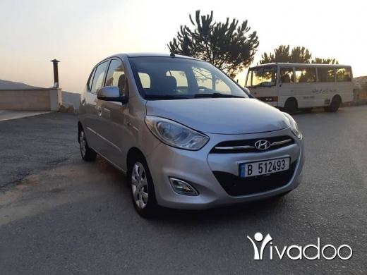 هيونداي في مدينة بيروت - Hyundai i10 2013 Full Option