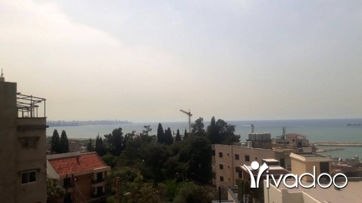 Apartments in Dbayeh - Well located apartment in Dbayeh For Rent with open Sea View L04565