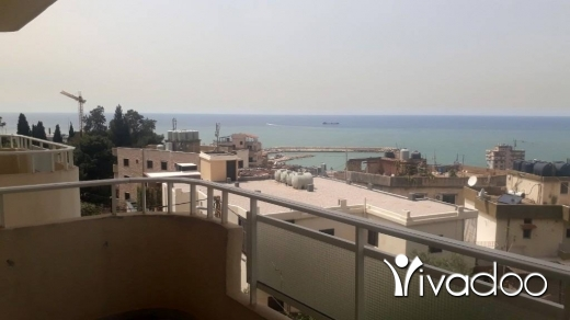 Apartments in Dbayeh - Well located apartment For Sale in Dbayeh with open Sea View L04564