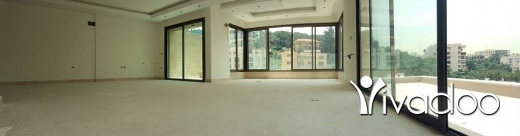 Apartments in Baabda - L05445 Luxurious Apartment for Sale with Terrace and view in Baabda