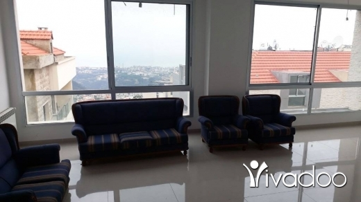 Apartments in Mazraat Yachouh - Brand New Apartment For Sale With a Nice View in Mazraat Yachouh - L04459