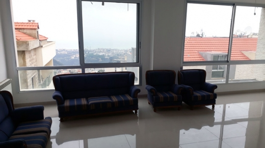 Apartments in Mazraat Yachouh - Brand New Apartment For Sale With a Nice View in Mazraat Yachouh