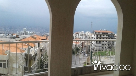 Apartments in Qannabet Broumana - Duplex with sea view for Rent in Qonnabet Brommana - L04352
