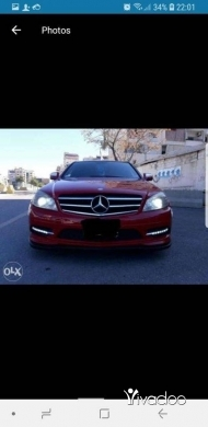 Mercedes-Benz in Beirut City - 11 800 $ C300 look 2011