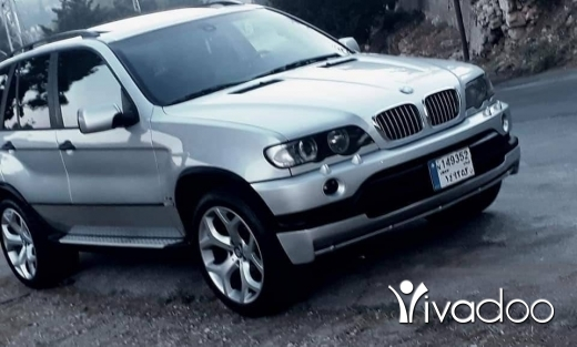 BMW in Beirut City - 1 $ X5 model 20015ari2 nadafi ful zawayid 70945647  Écrire