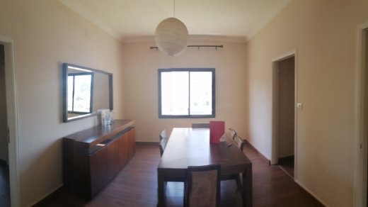 Apartments in Achrafieh - 3-Bedroom Spacious Apartment For Rent In Mar Mikhael Main Street