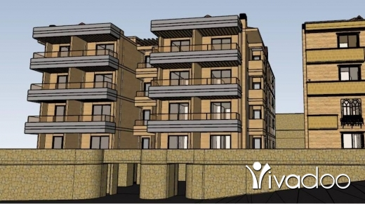 Apartments in Achrafieh -  L04454 Apartment For Sale in Bikfaya with panoramic view