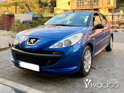 Peugeot in Beirut City - 5 250 $ A Super clean Peugot 206+ for sale زوق مكايل, جبل لبنان