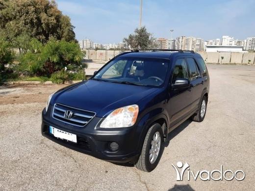 Honda in Tripoli - 8 499 $ Honda CRV 2005 خارقة ما فيها حوادث منا ماشي كتير طرابلس, الشمال