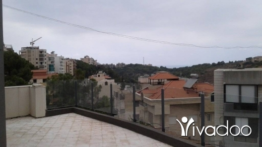 Apartments in Awkar - New Duplex with large terrace for Sale in Aoukar - L05703