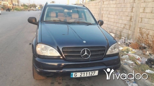 Mercedes-Benz dans Tripoli - 4 000 $ ML مودال 2001 مجدليا, الشمال
