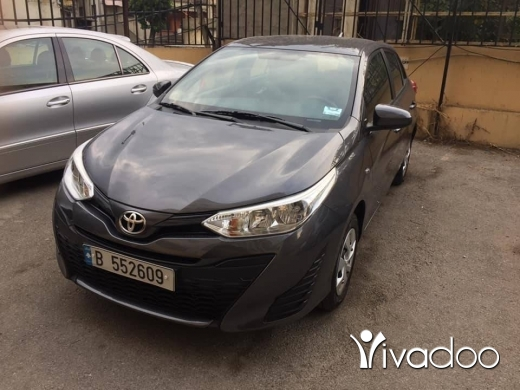 Toyota in Beirut City - Contacter le vendeur Toyota Yaris 2018