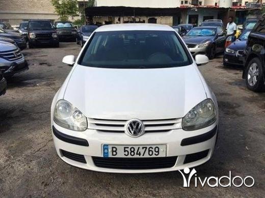Volkswagen dans Beyrouth - Samer Chahine 22 min Golf GL 2006 V4 Expo chahine Beirut hadat 03 857 811 03 784 201