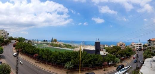 شقق في ذوق مكايل - Spacious And Luxurious Apartment For Rent With Open Sea View In Zouk Mikael