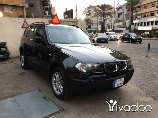 BMW in Beirut City - 6 500 $ Bmw x3 model 2004 full option excellent condition panoramic ☎️