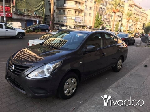 Nissan in Beirut City - 8 000 $ Nissan sunny model 2016 automatic ,airbag,abs, excellent condition 52000 km ☎️