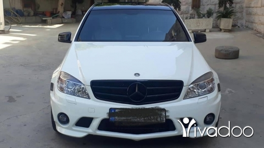 Mercedes-Benz in Zgharta - 11 000 $ C300 look amg 2009 tel 03667511 ‎زغرتا, الشمال