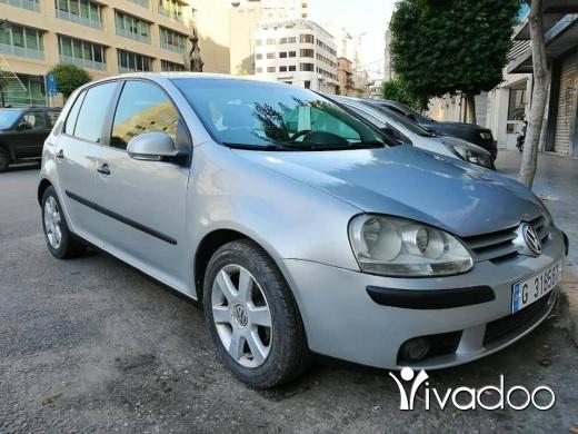 Volkswagen in Beirut City - 6 300 $ Golf 5