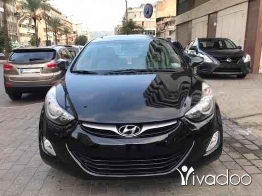 Hyundai in Beirut City - 8 400 $ Hyundai elantra model 2012 full option , fat)et sa2ef , jnuta, super clean ☎️☎️