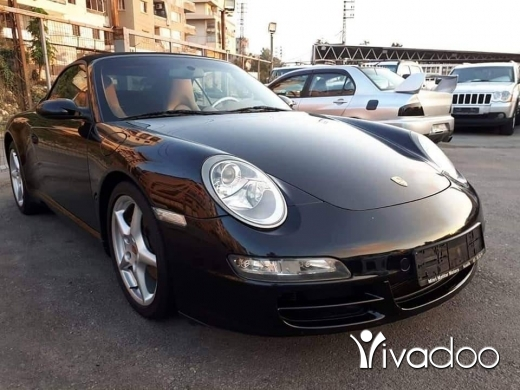 Porsche in Beirut City - 29 000 $ 2006 Carrera Cabrio