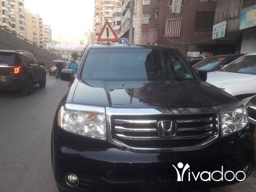 Honda in Beirut City - pilot