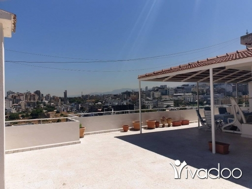 Apartments in Hazmieh - L04972 Apartment in Hazmieh For Sale with Terrace Overlooking a Great View