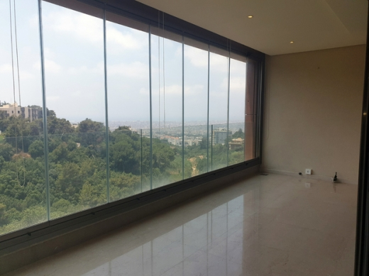 Apartments in Baabda - L04968 2-Bedroom Apartment For Rent in Brasilia with Panoramic view