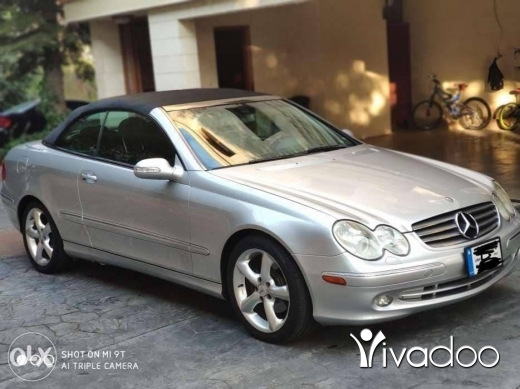 Mercedes-Benz in Beirut City - 1 $ Clk 320 full options 2004 عشقوت, جبل لبنان