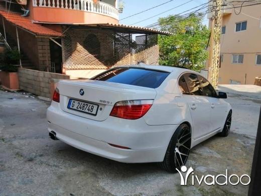 BMW in Tripoli - 7 000 $ سعر جنوني بداعي سفر e60 مودال 2008 مبدا ليرة.خارقة.لمدت يومان بس اسعر دير عمار, الشمال
