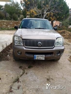Ford in Tripoli - GRATUIT جيب ميركري فورد موديل 2004 خارق 7 مقاعد/ مازدا 626 موديل84 انقاض غاز وبنزين طرابلس, الشما