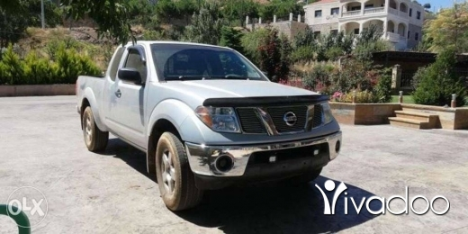 Nissan in Tripoli - 7 500 $ Nissan frontier 2005 king cab