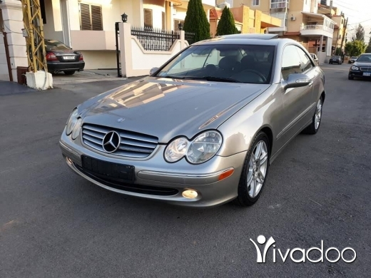 Mercedes-Benz in Tripoli - 6 200 $ Clk 320 2004 cherke ‎طرابلس, الشمال