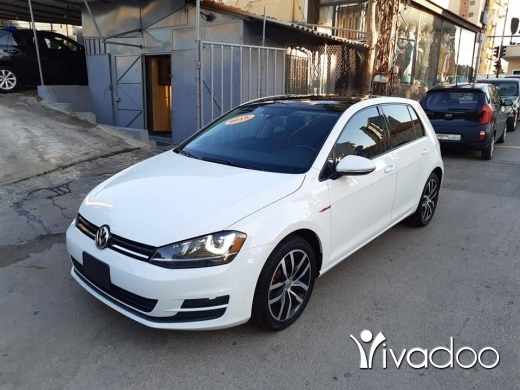 Volkswagen in Beirut City - GRATUIT Golf 7 1.8 turbo