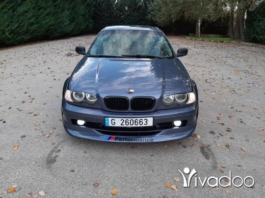BMW in Chtaura - 4 200 $ Bmw 330 model 2002 coupe سوبر جديد وقويه ووفيره وخارقه النضافه فيتاس عادي شتورا, البقاع