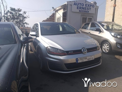 Volkswagen in Beirut City - 21 000 $ golf 7 mod 2015 ajnabiyyi 44000 miles dsg full options kher2a plz call 71738739